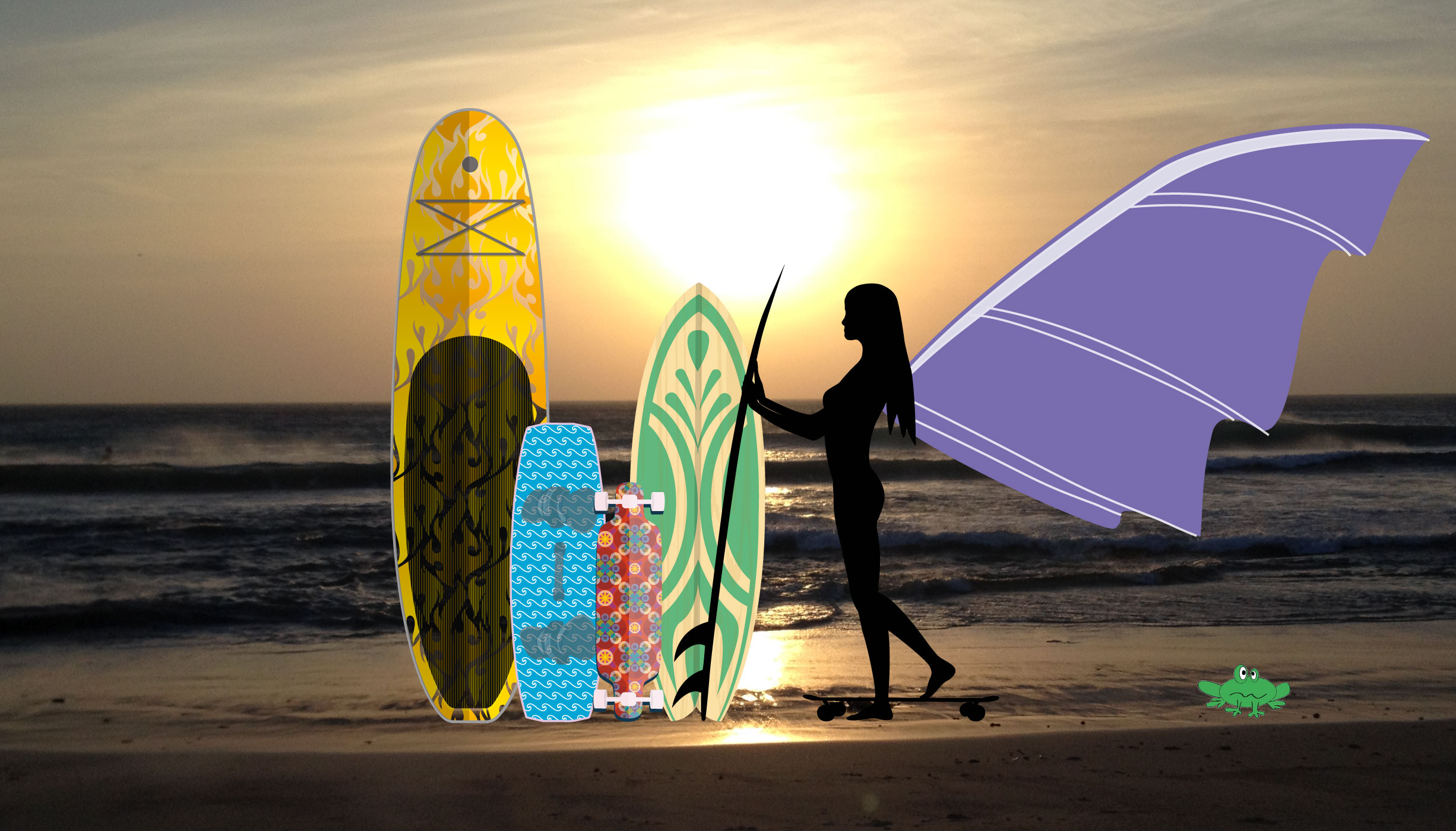 kite, surf, sup, longboard, skate, package rental, Tarifa